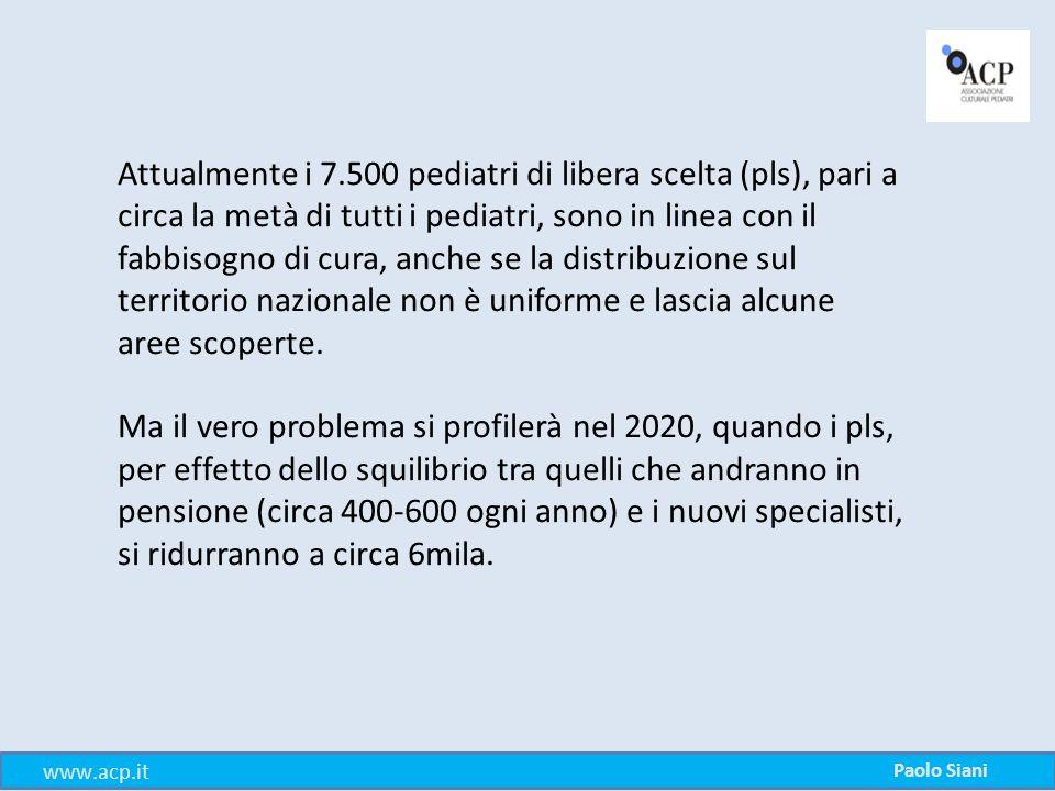 Le priorità I principi guida dell'organizzazione dell'assistenza pediatrica sono: La prevenzione e il contrasto delle disuguaglianze.