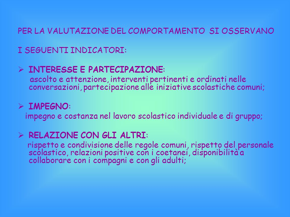  VALUTAZIONE DEL COMPORTAMENTO  La circolare n. 100 dell'11 dicembre 2008 sottolinea che l'art. 2 della legge 169/08 regola la valutazione del compo