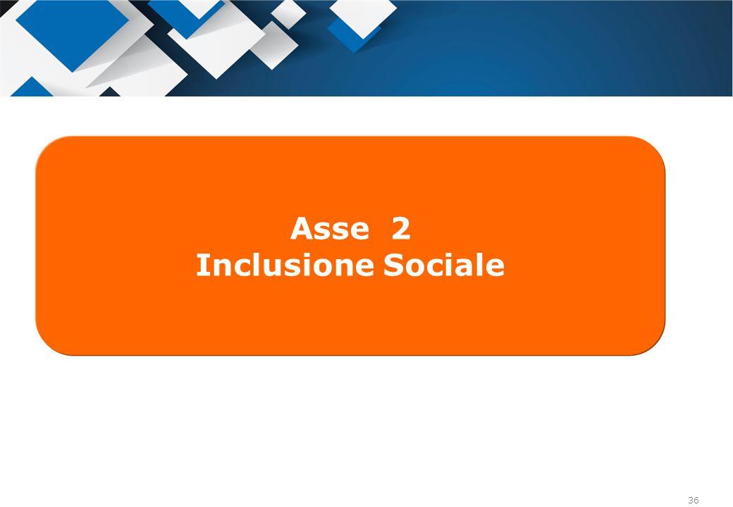 36 Asse 2 Inclusione Sociale