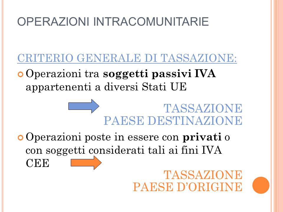 IMPORTAZIONI DISCIPLINA (segue): base imponibile = valore dei beni (norme doganali) (+) diritti doganali dovuti (escluso IVA) (+) spese di inoltro (fino luogo di desti- nazione all'interno della UE)