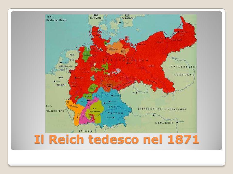 Il Reich tedesco nel 1871