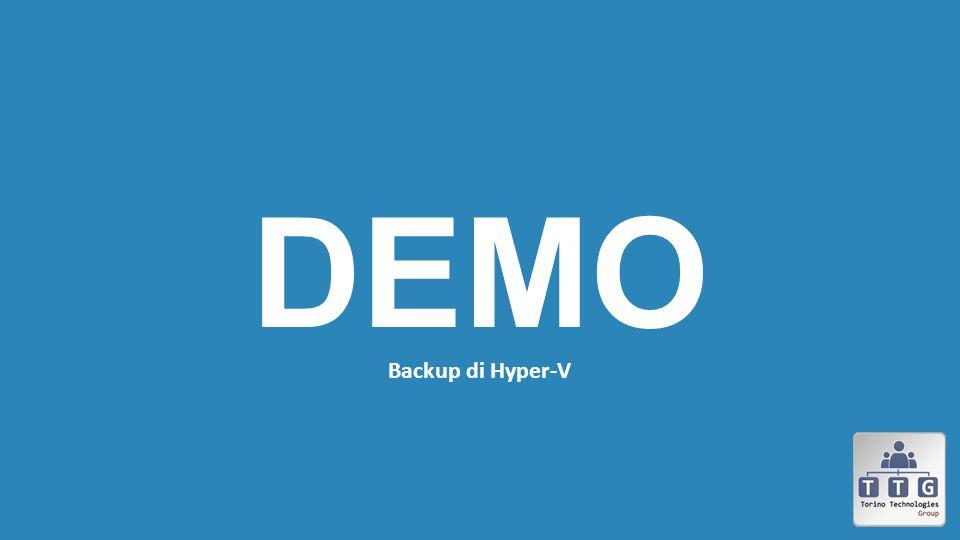 DEMO Backup di Hyper-V