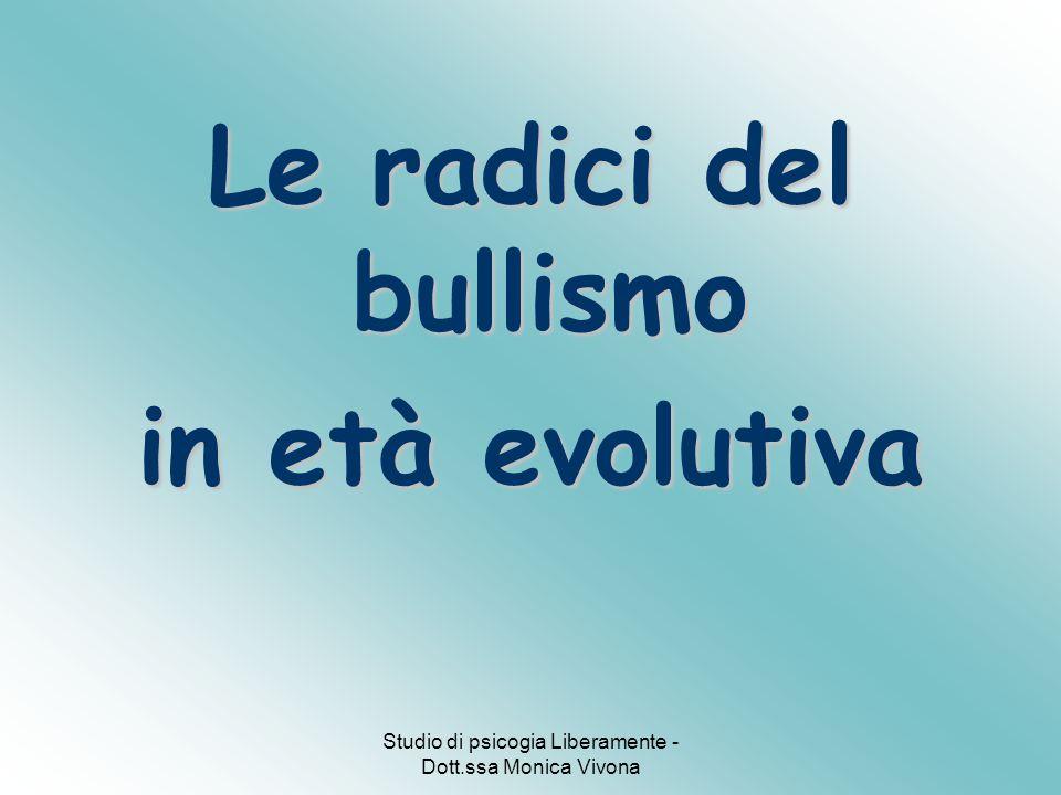 Le radici del bullismo in età evolutiva