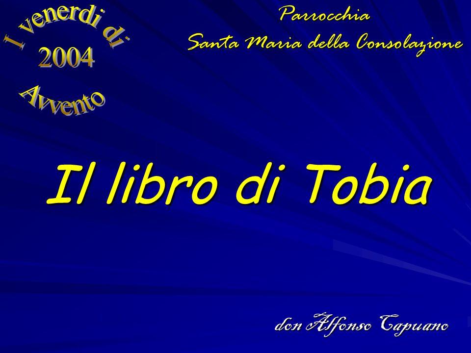 Il libro di Tobia Parrocchia Santa Maria della Consolazione don Alfonso Capuano