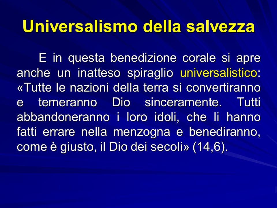 Ortodossia giudaica: III tesi Terza tesi: la benedizione divina. Se esiste una benedizione 'discendente' che da Dio è effusa sull'uomo, in Tb c'è anch