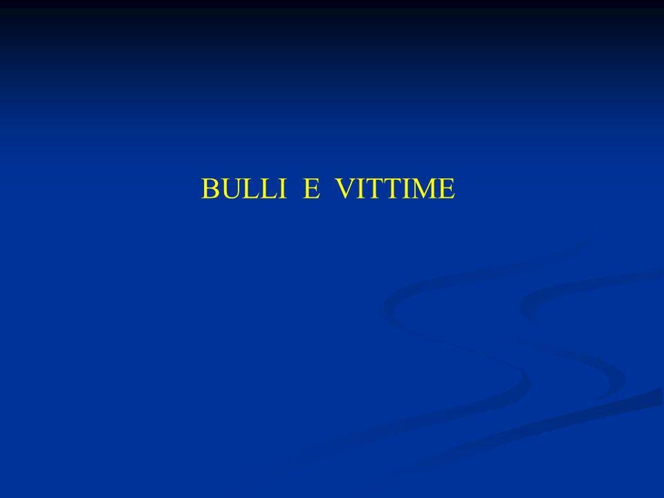 BULLI E VITTIME