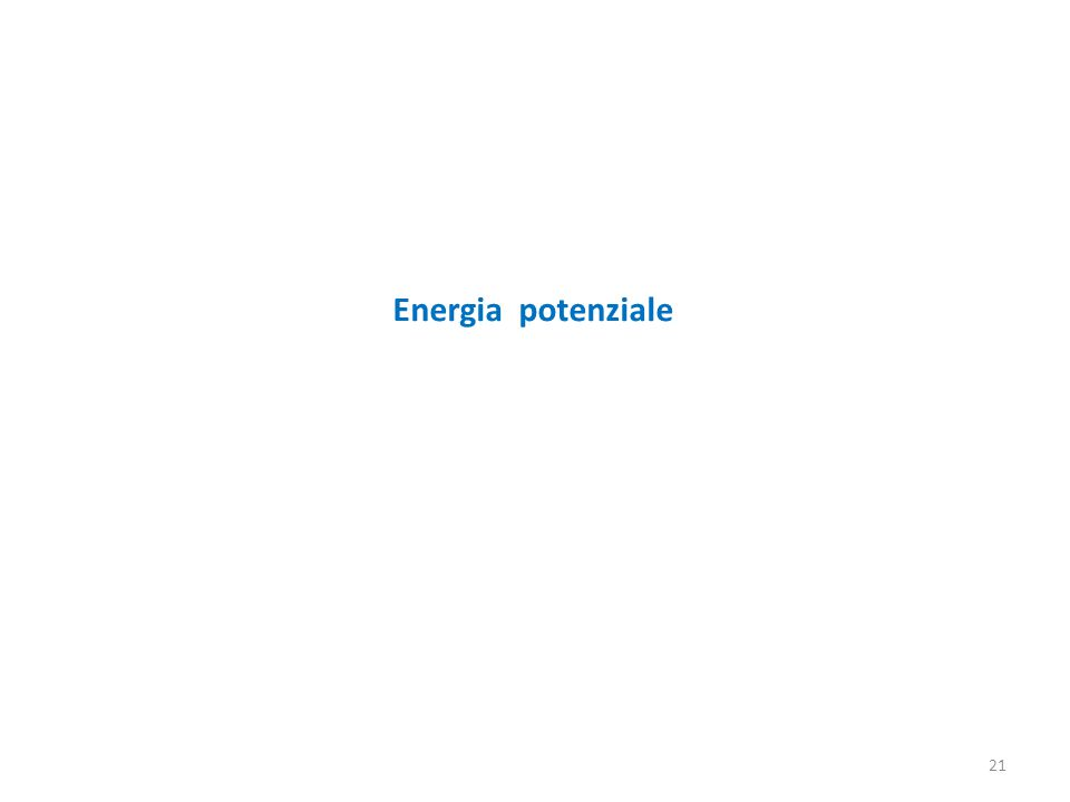 Energia potenziale 21