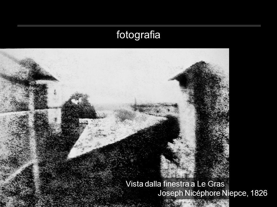 fotografia Vista dalla finestra a Le Gras Joseph Nicéphore Niepce, 1826