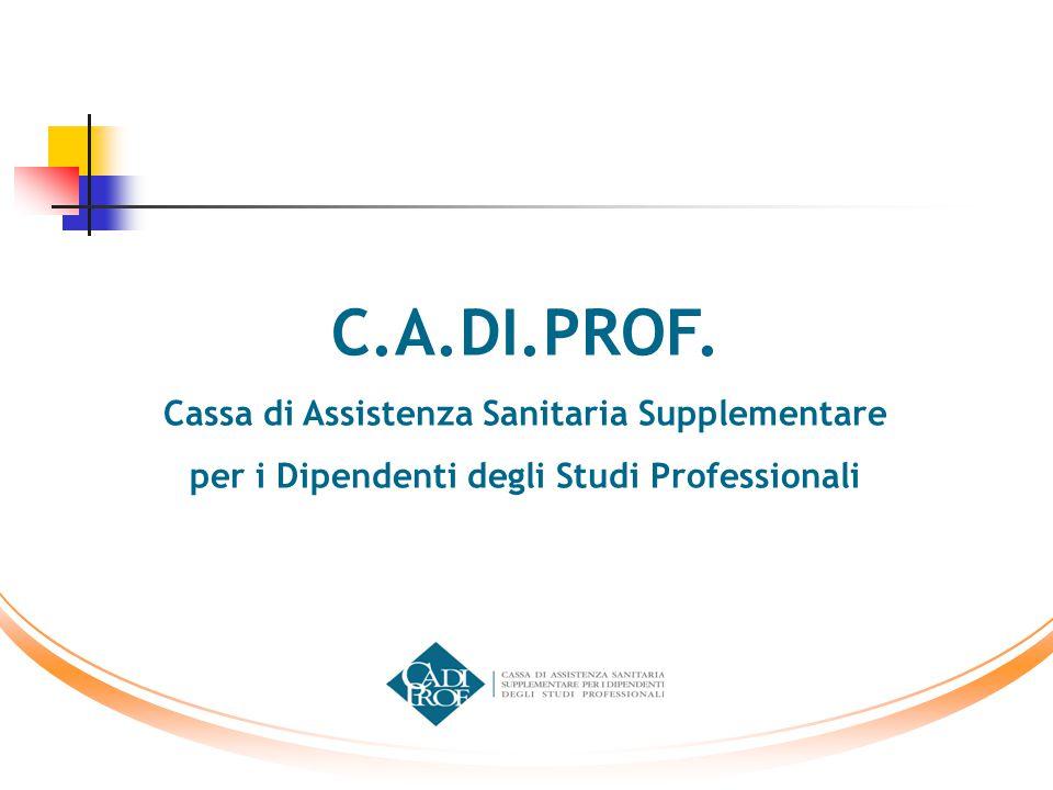 C.A.DI.PROF. Cassa di Assistenza Sanitaria Supplementare per i Dipendenti degli Studi Professionali