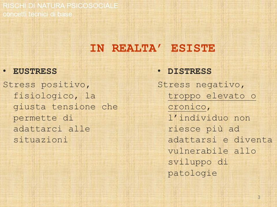 STRESS E …..