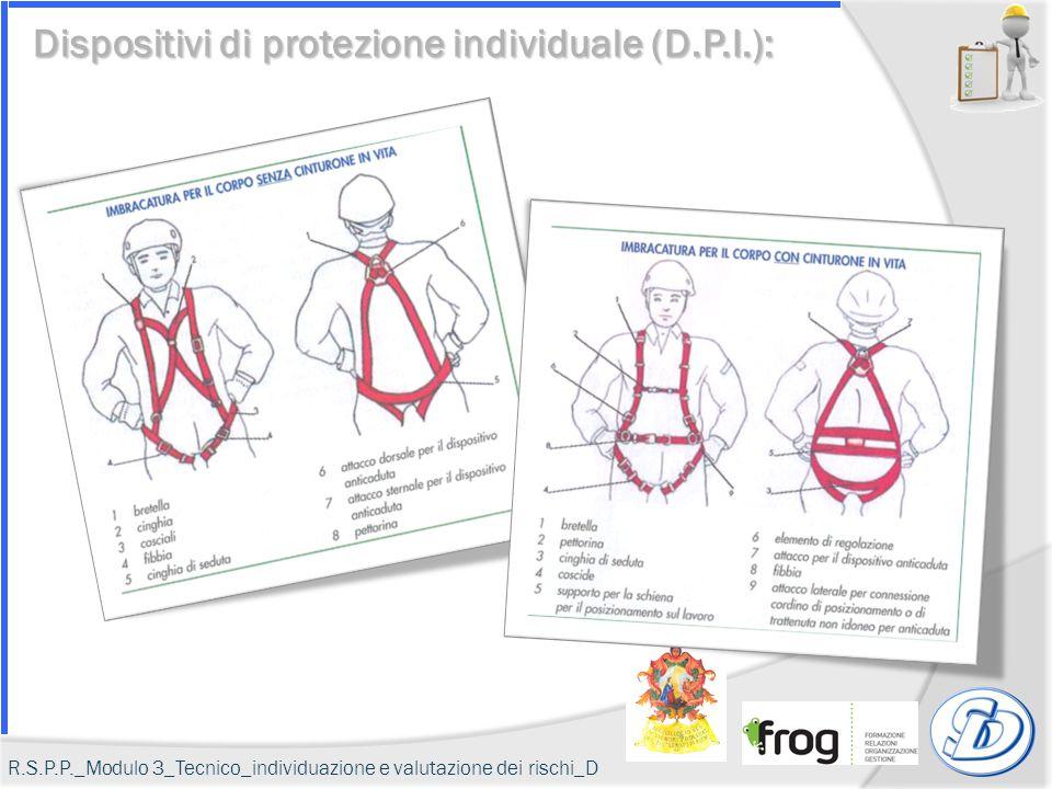 Dispositivi di protezione individuale (D.P.I.): R.S.P.P._Modulo 3_Tecnico_individuazione e valutazione dei rischi_D