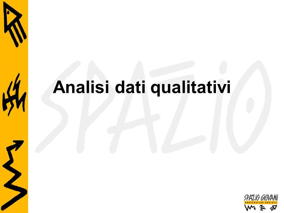 Analisi dati qualitativi