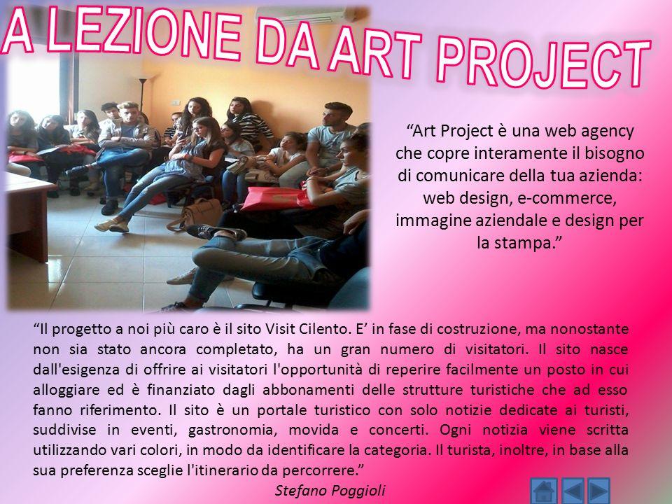 """""""Art Project è una web agency che copre interamente il bisogno di comunicare della tua azienda: web design, e-commerce, immagine aziendale e design pe"""