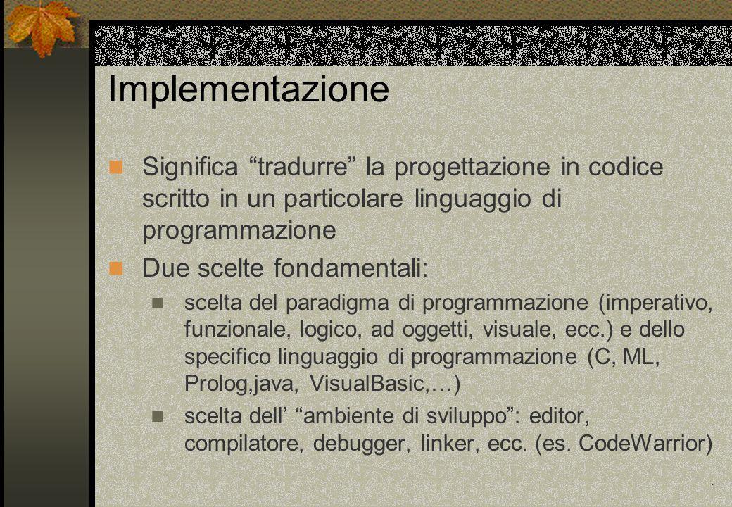11 Esempio ERRORE di editing ANOMALIA --> * invece di + MALFUNZIONAMENTO --> si stampa un valore diverso da quello atteso ANOMALIA causata da un errore MALFUNZIONAMENTO causato da un'anomalia program RADDOPPIA.......