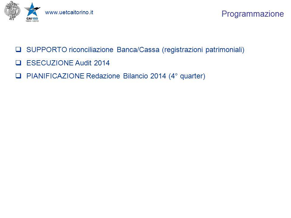 www.uetcaitorino.it 9 settembre 2014 – Consiglio Direttivo UET 8.
