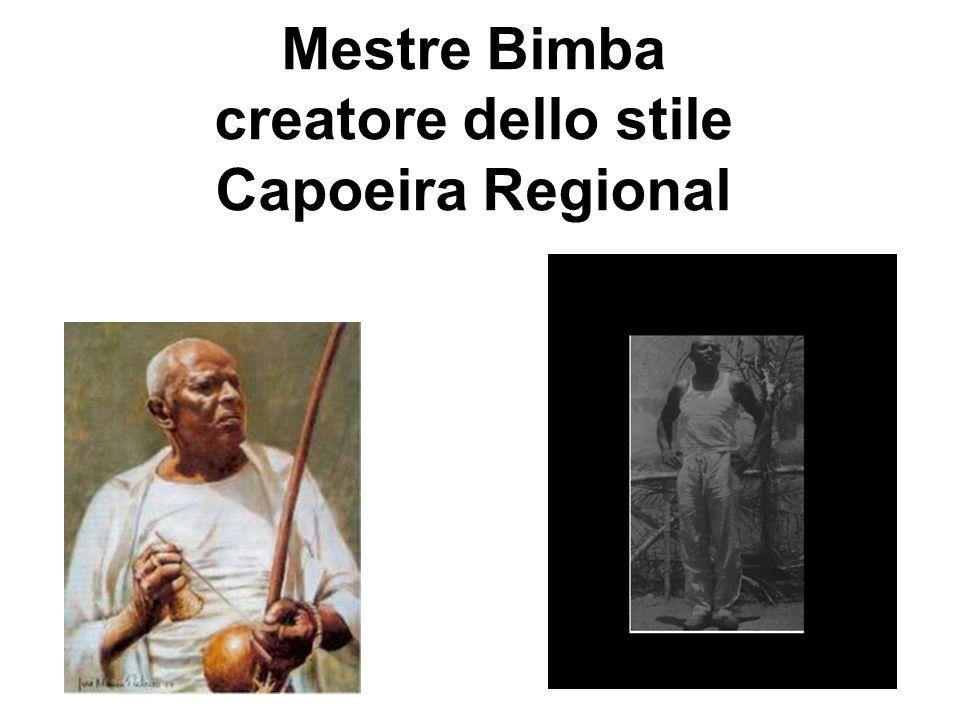 Mestre Bimba creatore dello stile Capoeira Regional