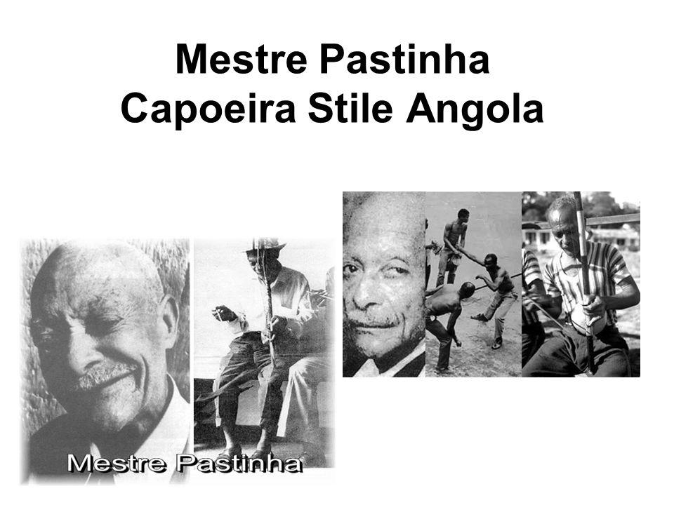 Mestre Pastinha Capoeira Stile Angola