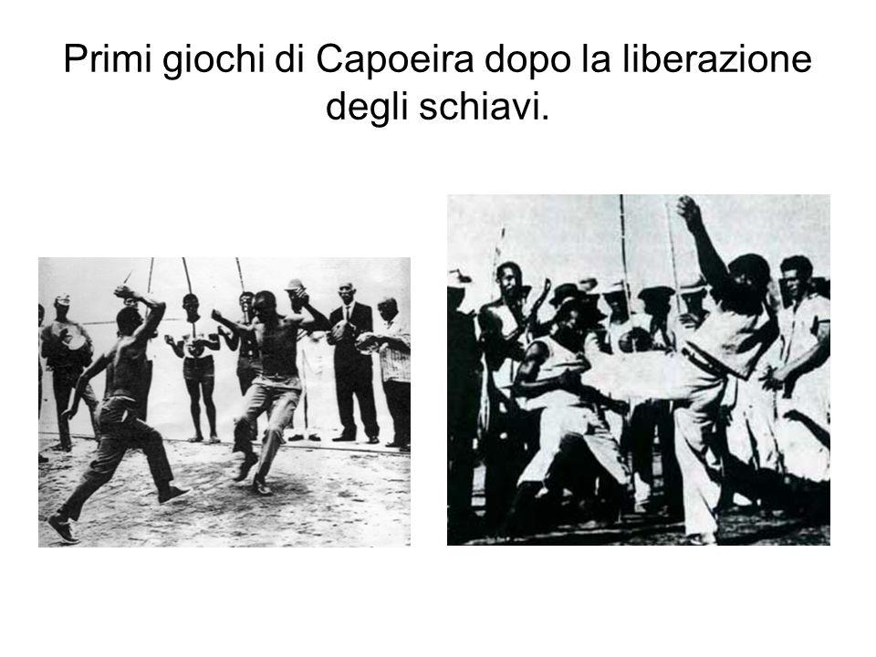 Primi giochi di Capoeira dopo la liberazione degli schiavi.