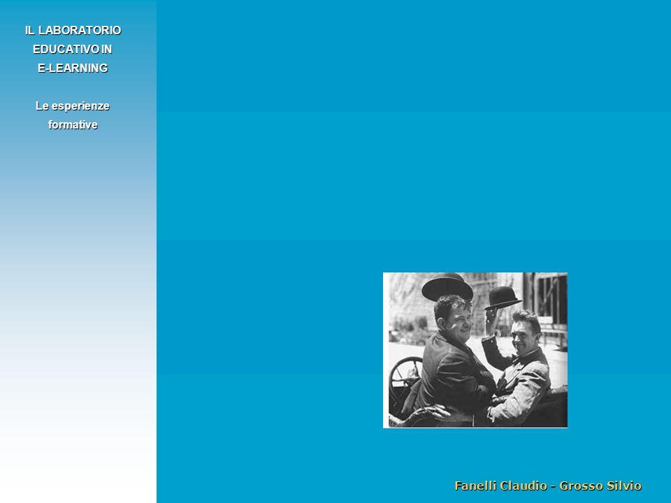 Fanelli Claudio - Grosso Silvio IL LABORATORIO EDUCATIVO IN E-LEARNING Le esperienze formative
