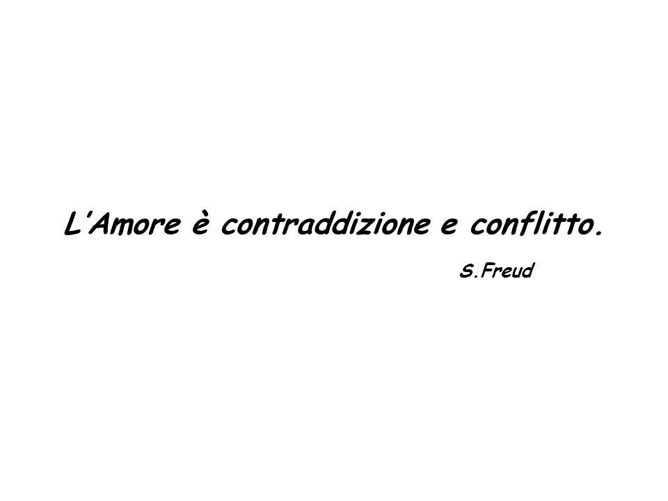 L'Amore è contraddizione e conflitto. S.Freud