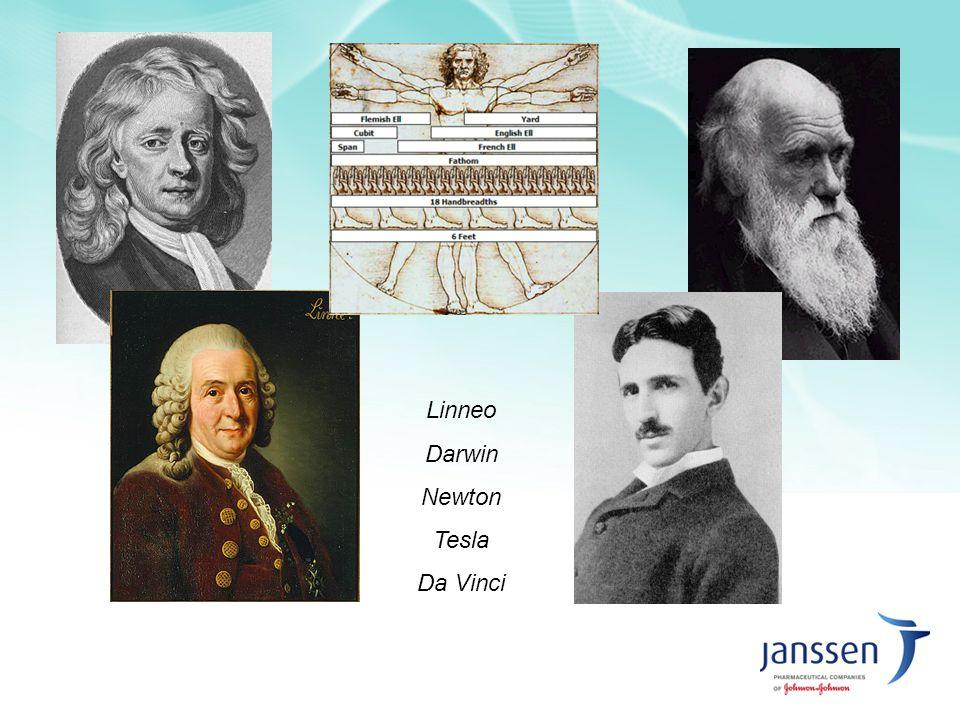 Linneo Darwin Newton Tesla Da Vinci