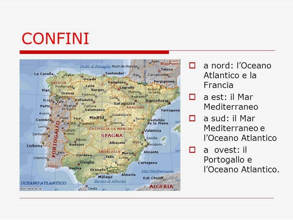 In Spagna le condizioni climatiche variano da zona a zona:  La Meseta è circondata da catene montuose che la riparano dalle correnti marine e presenta un clima continentale, con inverni rigidi, estati calde e precipitazioni scarse;  A sud e nelle Baleari c'è un clima mediterraneo, con temperature miti durante l'inverno ed estati calde;  La regione settentrionale presenta un clima atlantico, con precipitazioni frequenti e copiose CLIMA
