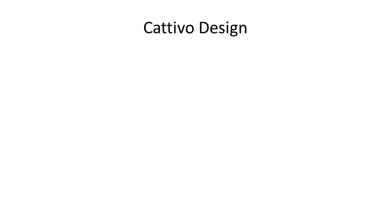 Cattivo Design