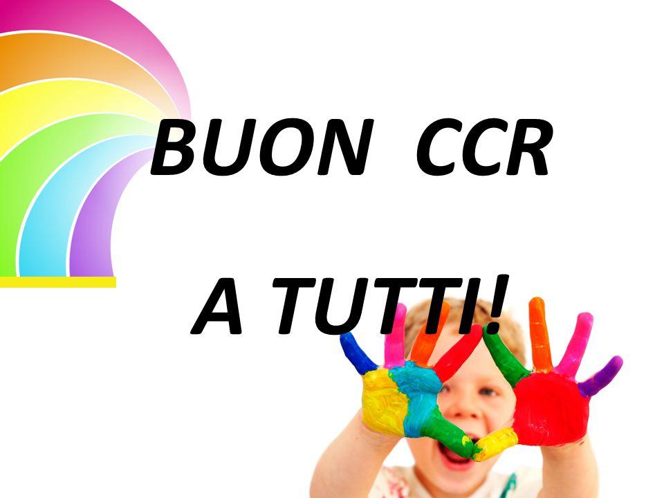 BUON CCR A TUTTI!