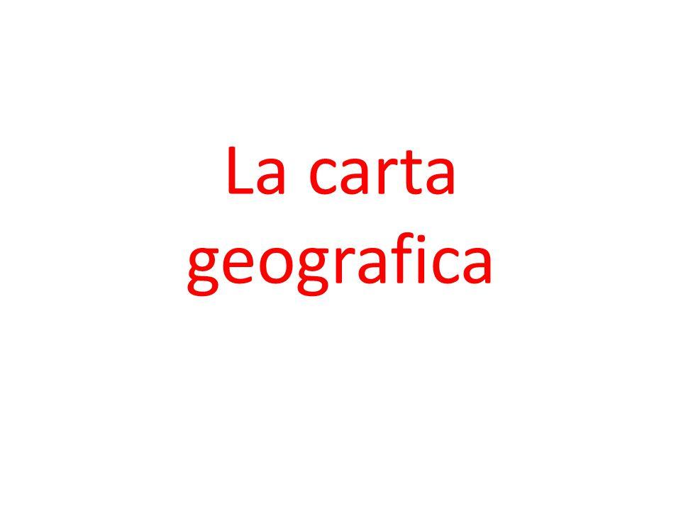 La carta geografica