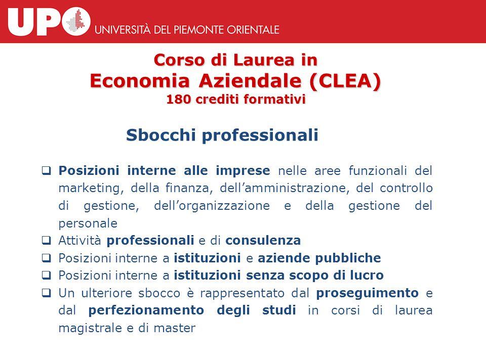  Posizioni interne alle imprese nelle aree funzionali del marketing, della finanza, dell'amministrazione, del controllo di gestione, dell'organizzazi