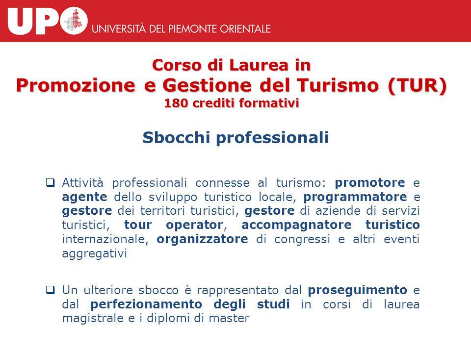  Attività professionali connesse al turismo: promotore e agente dello sviluppo turistico locale, programmatore e gestore dei territori turistici, ges