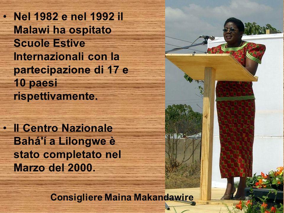 Nel 1982 e nel 1992 il Malawi ha ospitato Scuole Estive Internazionali con la partecipazione di 17 e 10 paesi rispettivamente.