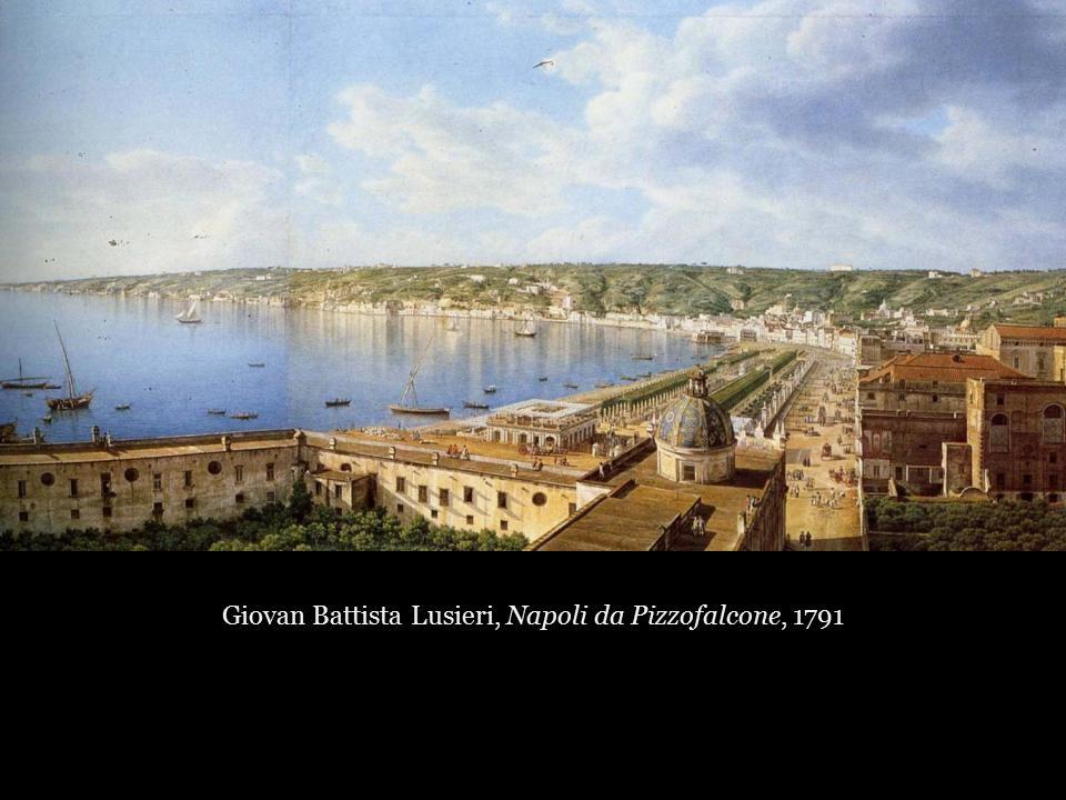 Giovan Battista Lusieri, Napoli da Pizzofalcone, 1791