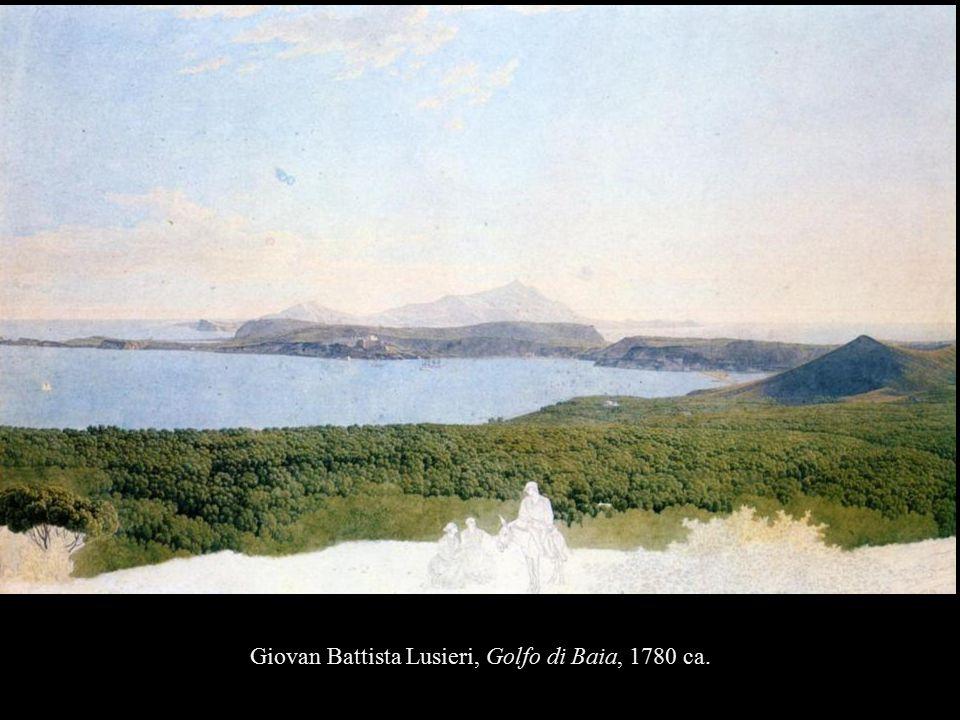 Giovan Battista Lusieri, Golfo di Baia, 1780 ca.