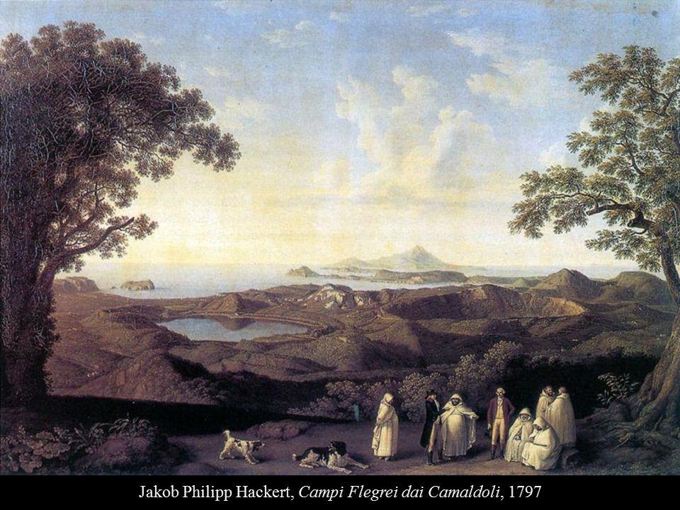 Jakob Philipp Hackert, Campi Flegrei dai Camaldoli, 1797