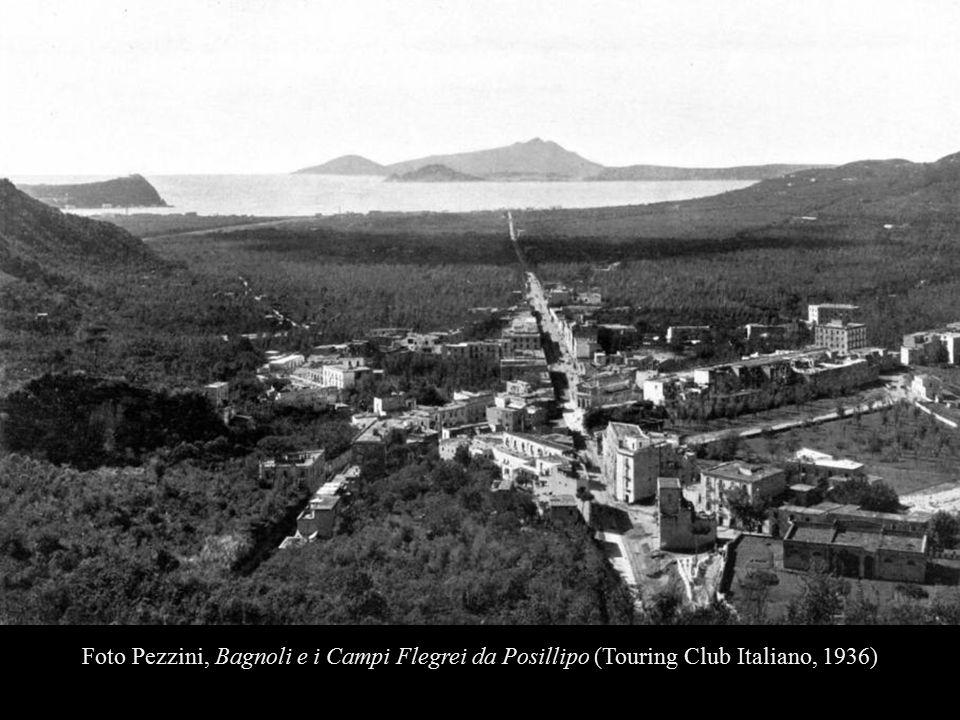 Foto Pezzini, Bagnoli e i Campi Flegrei da Posillipo (Touring Club Italiano, 1936)