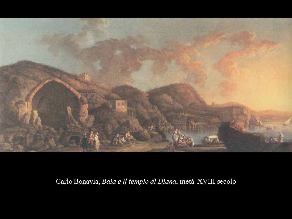 Carlo Bonavia, Baia e il tempio di Diana, metà XVIII secolo