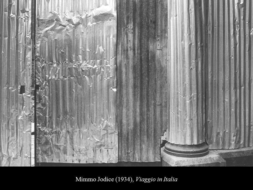 Mimmo Jodice (1934), Viaggio in Italia