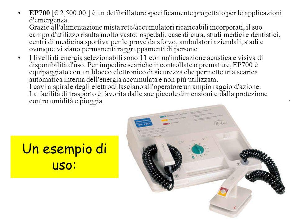38 EP700 [€ 2,500.00 ] è un defibrillatore specificamente progettato per le applicazioni d emergenza.