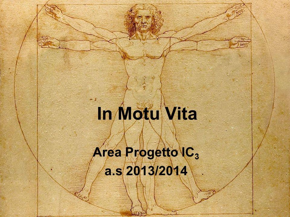 In Motu Vita Area Progetto IC 3 a.s 2013/2014