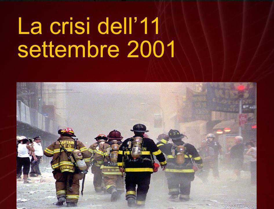 La crisi dell'11 settembre 2001