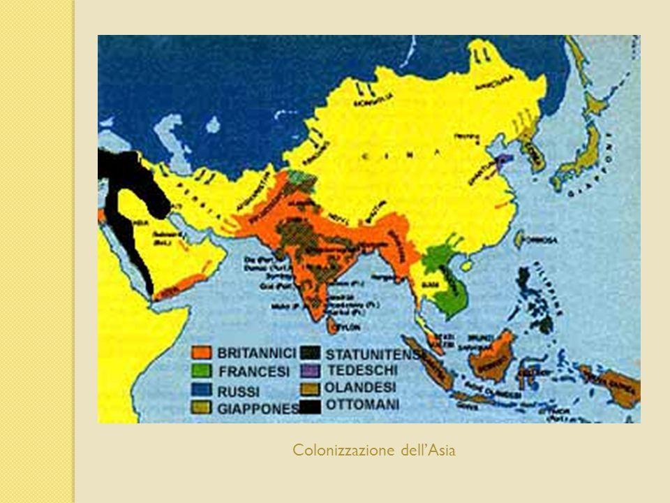 Colonizzazione dell'Asia
