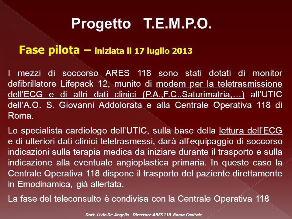 ELENCO POSTAZIONI: 01 –Addolorata: 1 MSB e 1MSA 02 – Centro - Montecitorio: 1 Auto Medica 03 – Roma – Est: 1 Auto Medica 04 – Roma – Sud: 1 Auto Medica Dott.