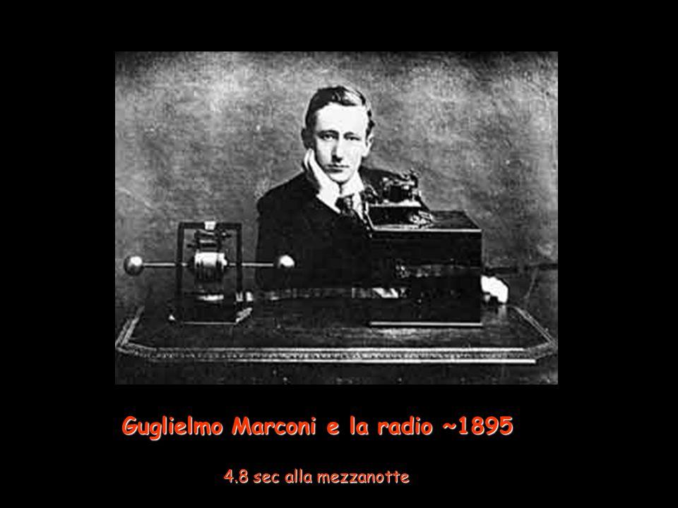 Guglielmo Marconi e la radio ~1895 4.8 sec alla mezzanotte