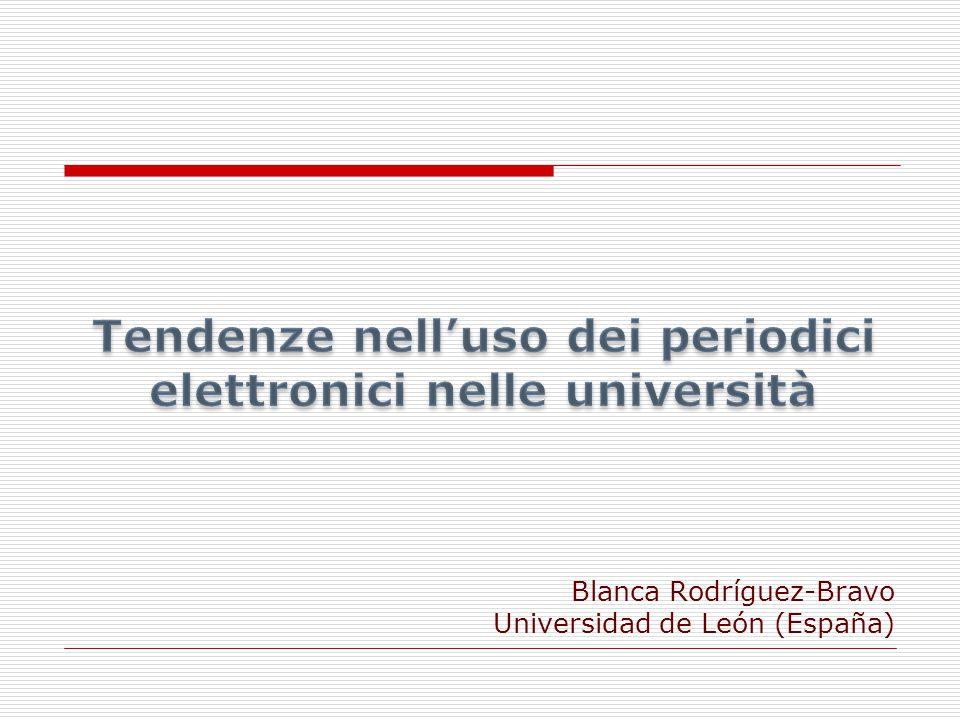 Blanca Rodríguez-Bravo Universidad de León (España)