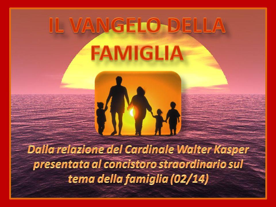 Relazione del Cardinale Walter Kasper presentata al concistoro straordinario sul tema della famiglia (02/14)