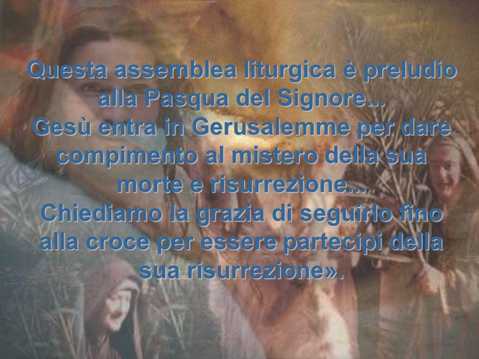 La strada che Gesù intraprende per salvare non è la forza e la ricchezza, ma la debolezza e la povertà.
