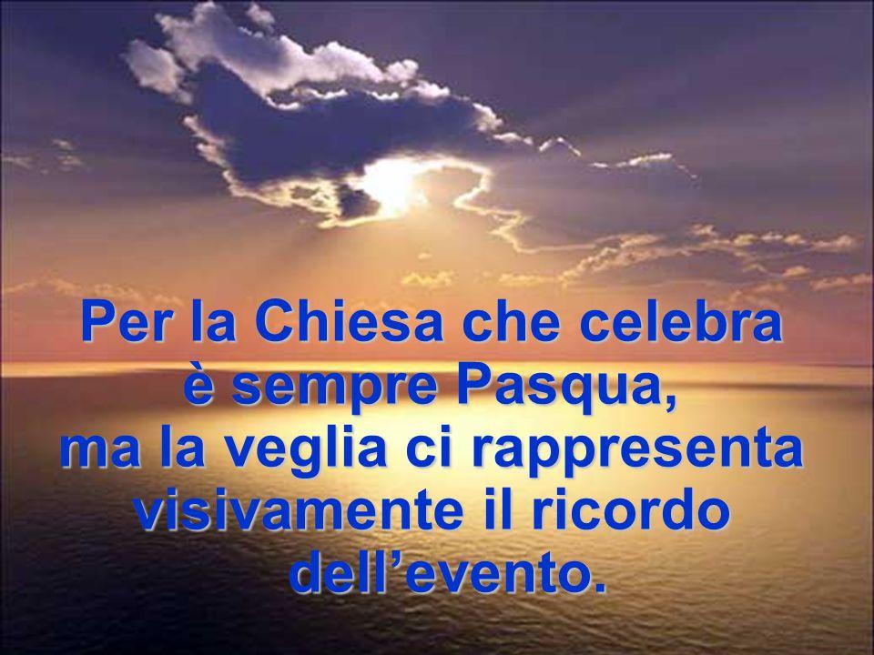 «Riviviamo la Pasqua del Signore» La liturgia non è coreografia, ma presenza viva, nei segni, dell'evento della salvezza.