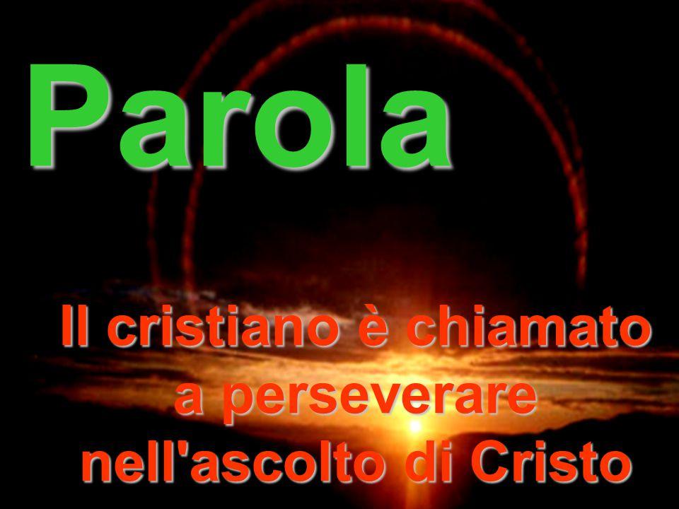 Luce Il cristiano è chiamato ad essere Portatore di Luce