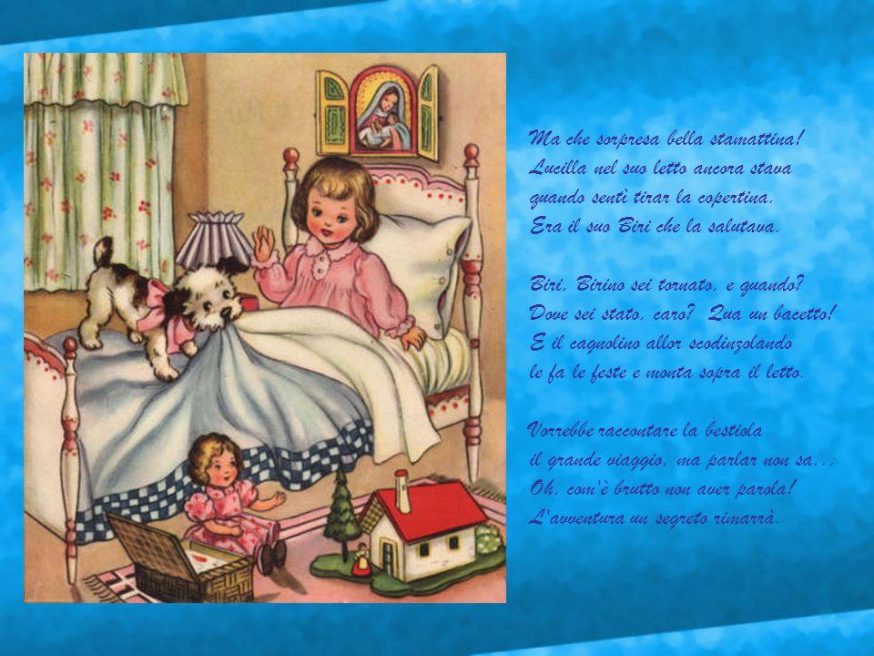Vigilia di Natale. Trepidanti i bimbi di già smaniano d'attesa. I doni sono pronti tutti quanti, per Dario, per Maurizio, per Teresa... Li han prepara